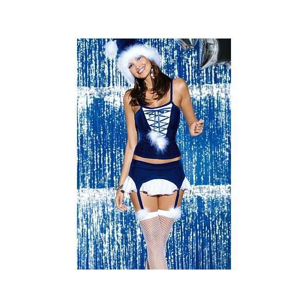 Vánoční kostým Snowflake corset - Obsessive S/M