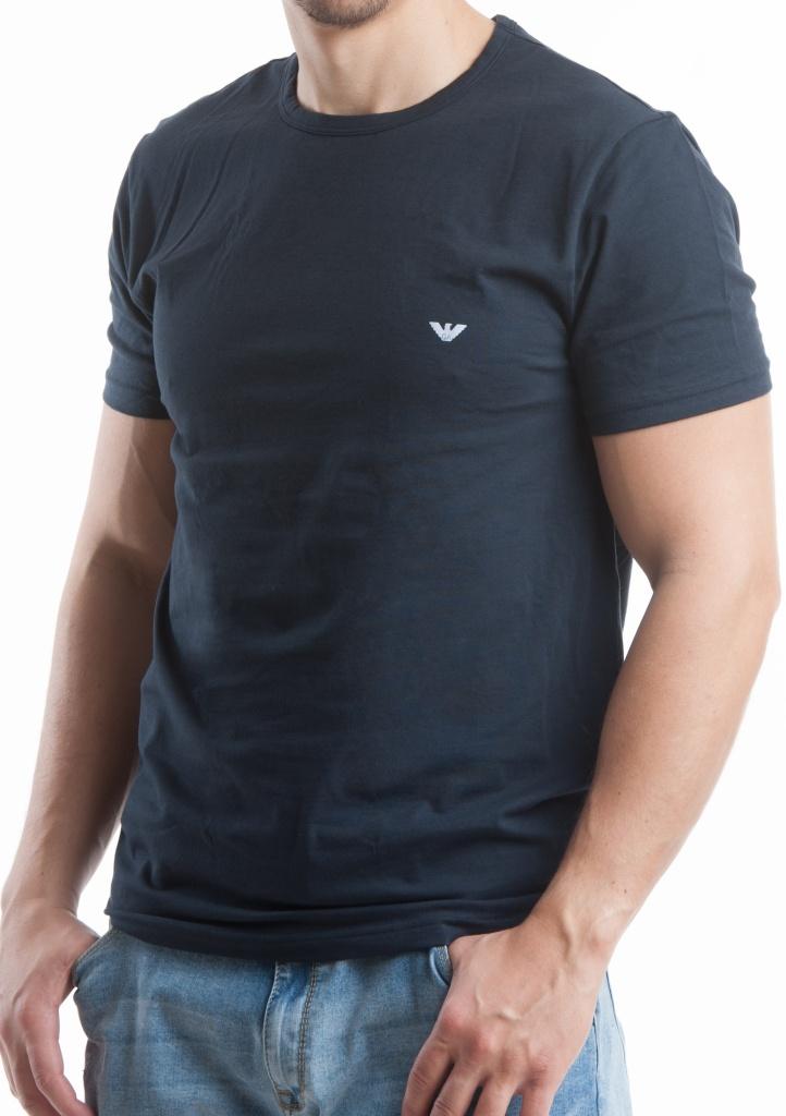 7c5da99ef243 Pánské tričko Emporio Armani 111267 CC717 modrá