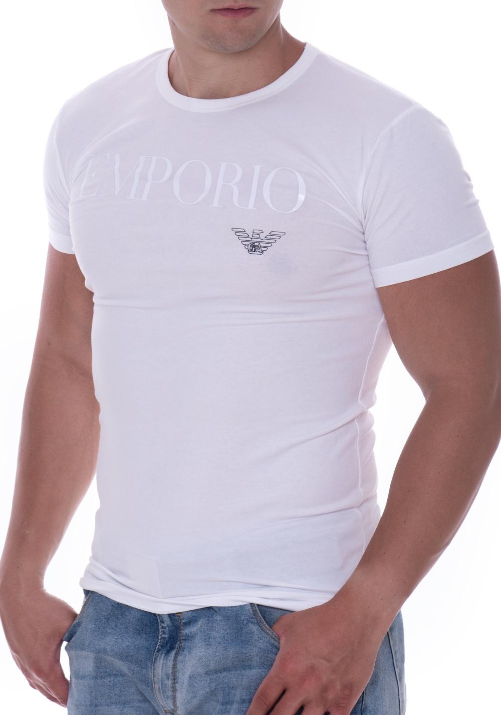 2e915d3f1239 Pánské tričko Emporio Armani 111035 CC716