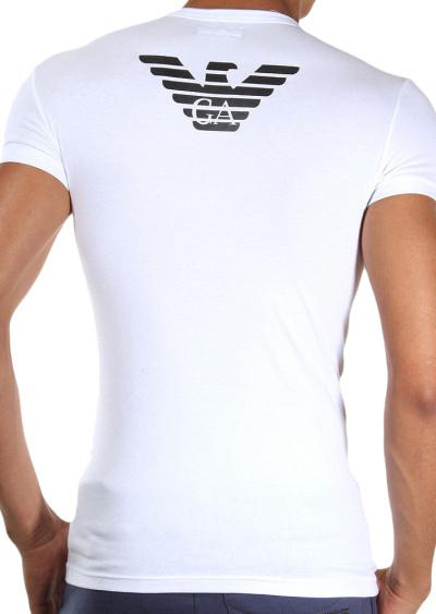 c83003de69 Pánské tričko Emporio Armani 111275 CC725 biela