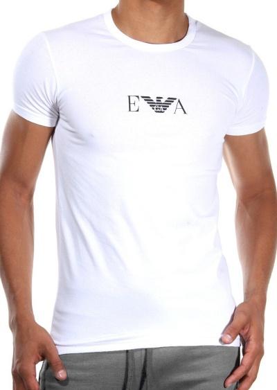 aa20d247b3ed Pánské tričko Emporio Armani 111267 CC715 bílá 2 kusy Bílá