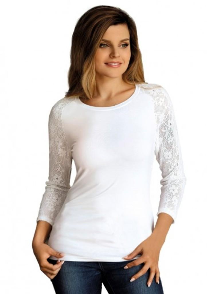Dámské tričko Babell Freya - bílá L Bílá