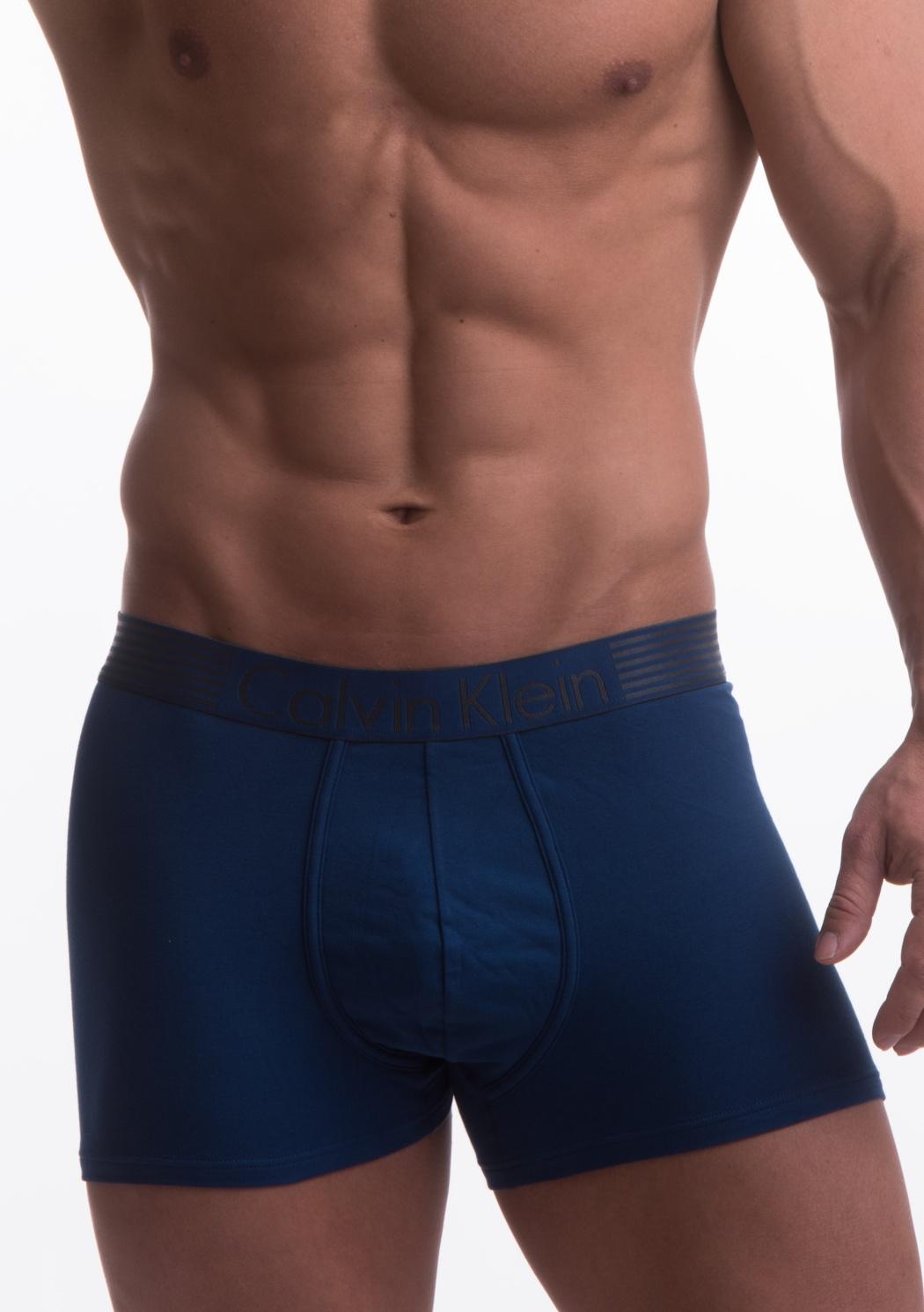 Boxerky Calvin Klein NB1017 L Tm. modrá