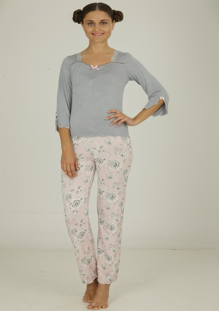 Dámské viskózové pyžamo Cocoon Secret 682 YPJ XL Dle obrázku