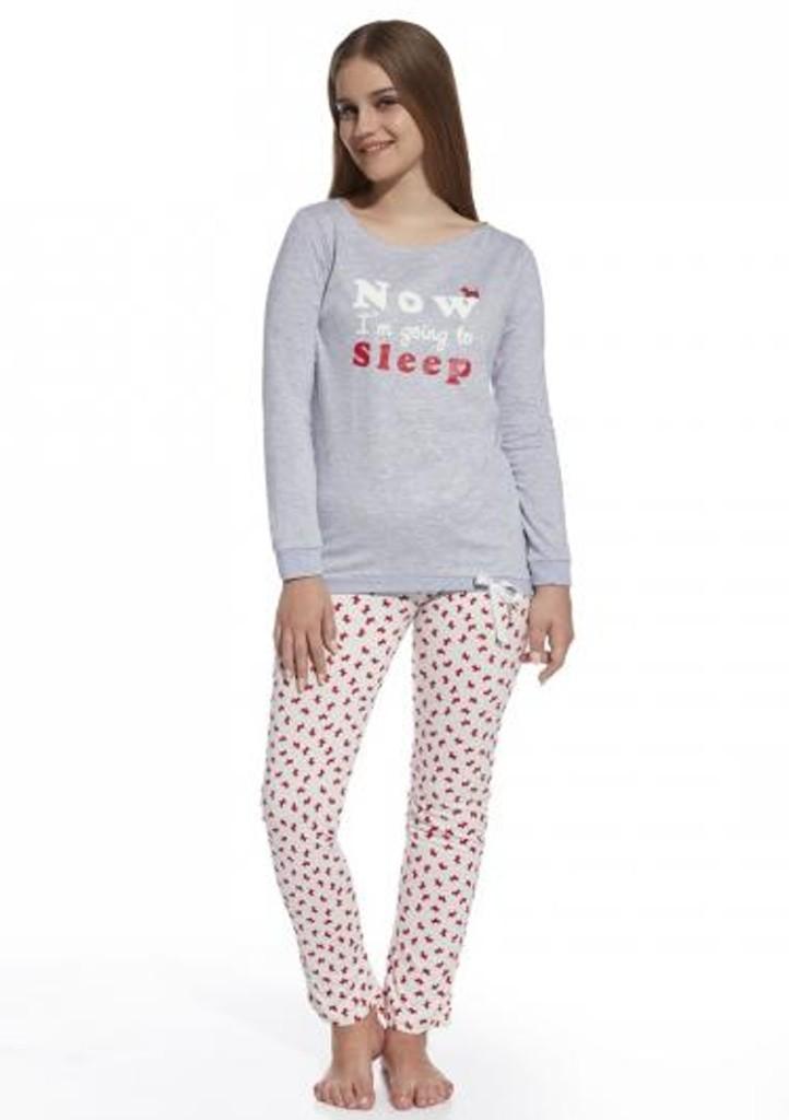 Dětské pyžamo Cornette 594/69 158 ŠedáEA