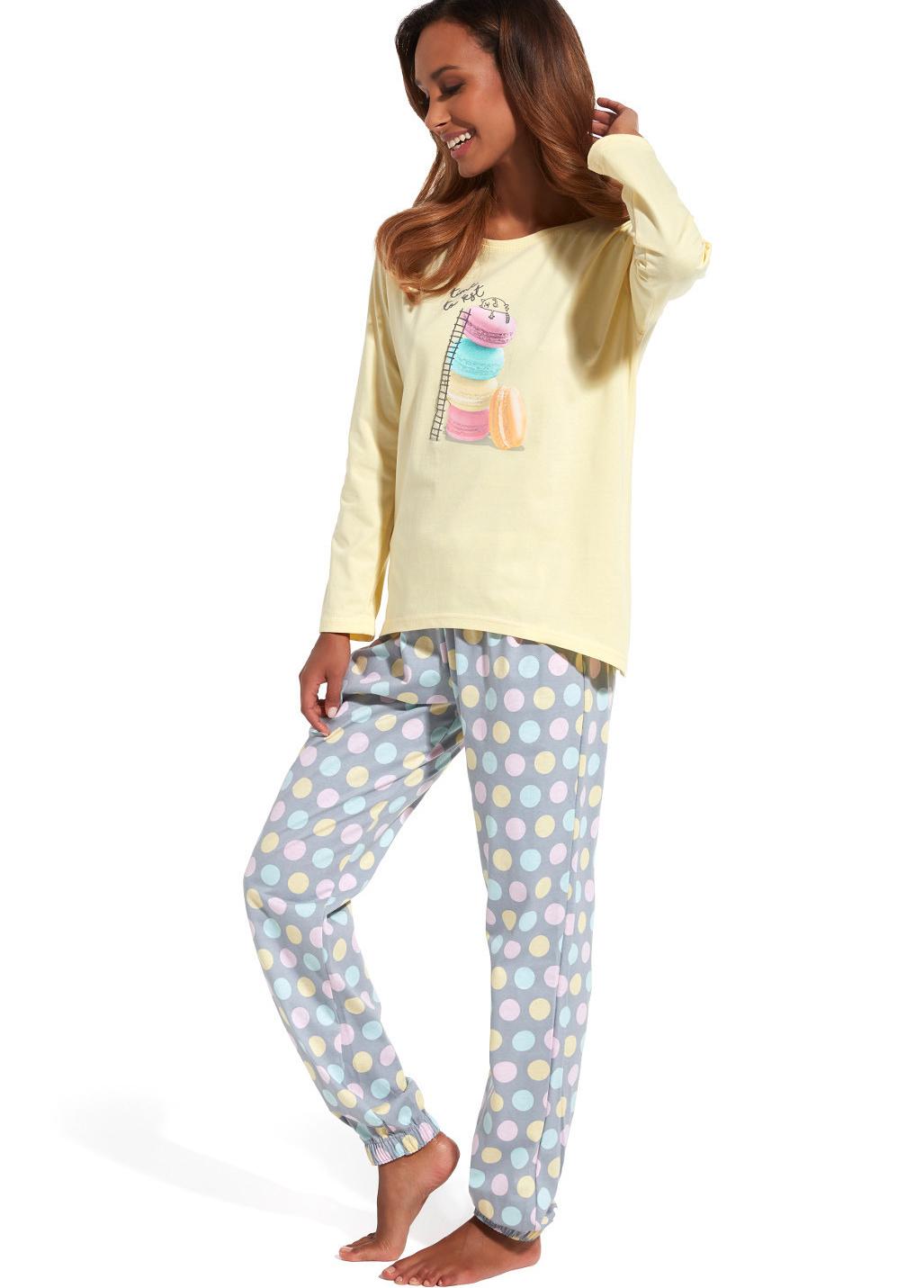 Dámské pyžamo Cornette 625/124 S Dle obrázku