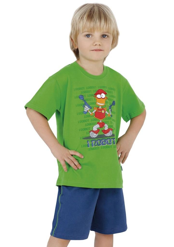 Dětské pyžamo Cornette 789/15 122/128 Zelená