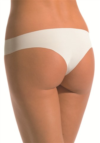 Kalhotky brazilky 8141 Cotonella M Bílá