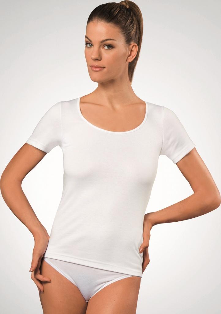 Dámské tričko Cotonella AD111 XXL Bílá