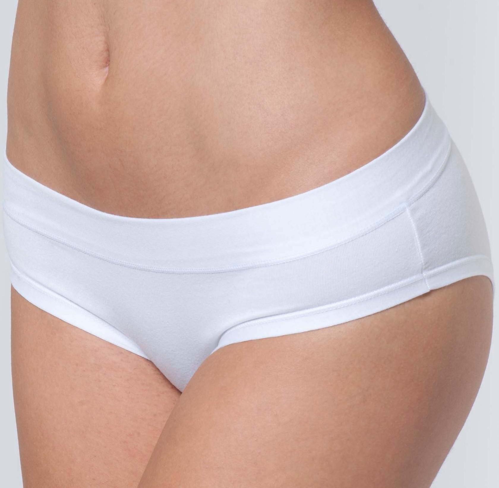 Dámské kalhotky Cotonella AD142 M Bílá