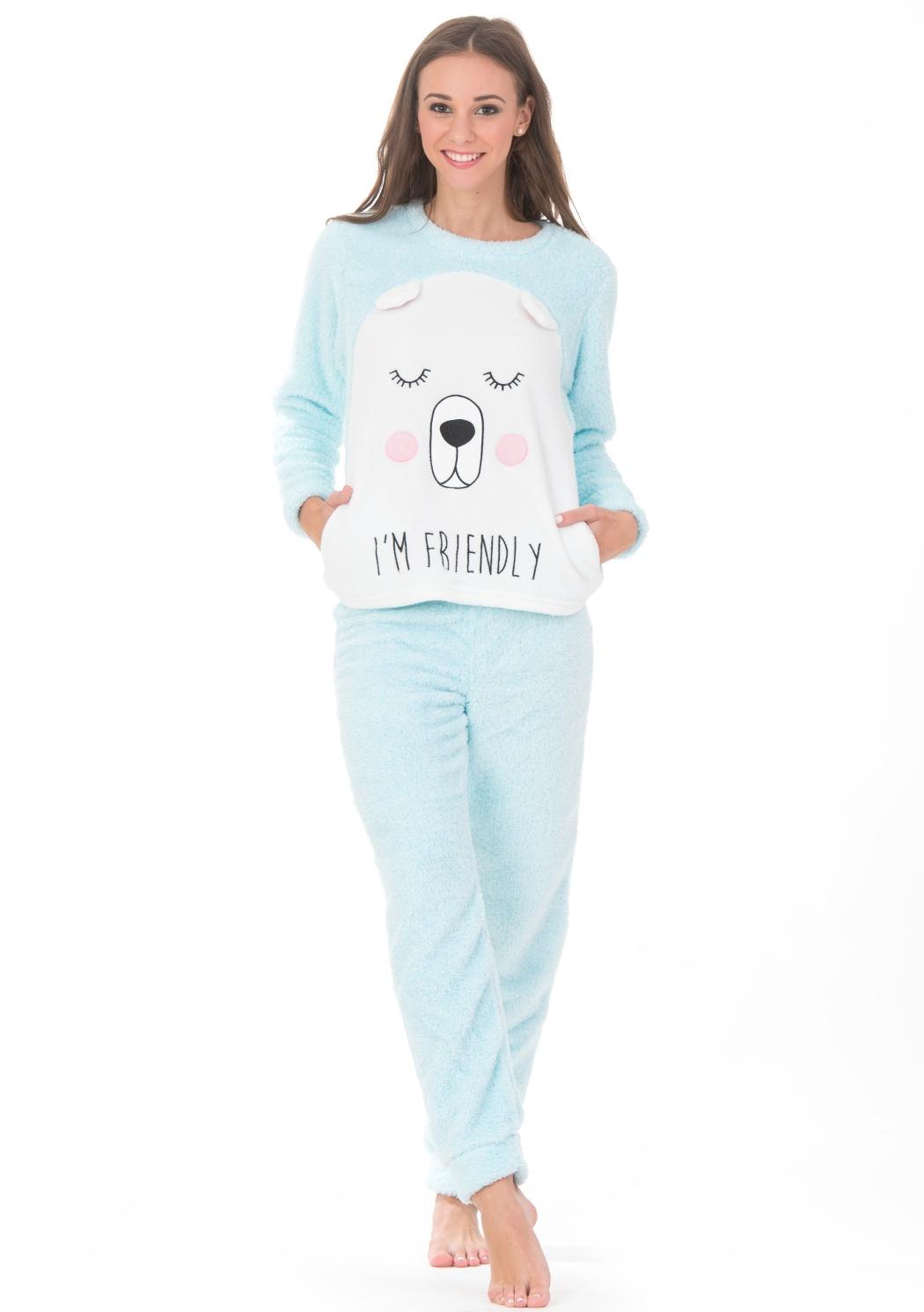 Dámské pyžamo CTM ARTIC.PYC  2a7f9dbb9d