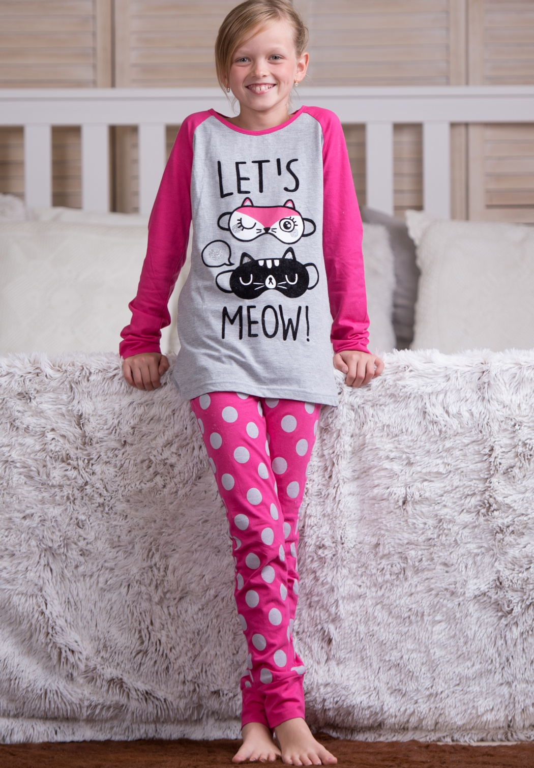 Dětské pyžamo CTM MIAOU.PL 10 Dle obrázku