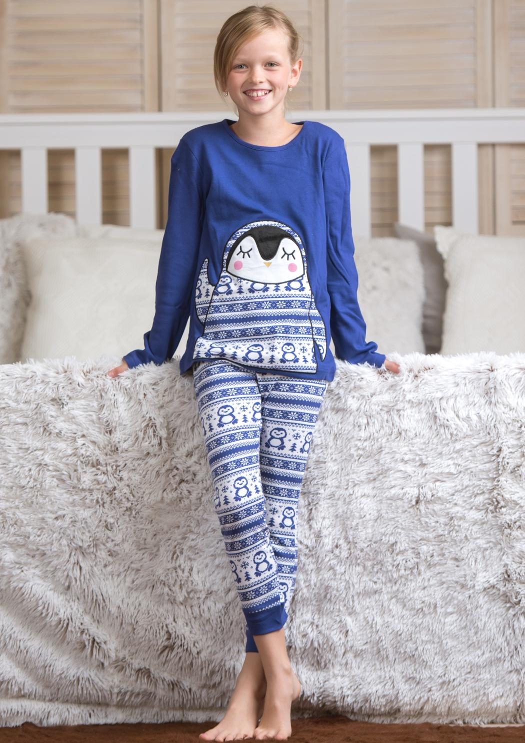 Dětské pyžamo CTM BANQUISE.PLK 3 Modrá