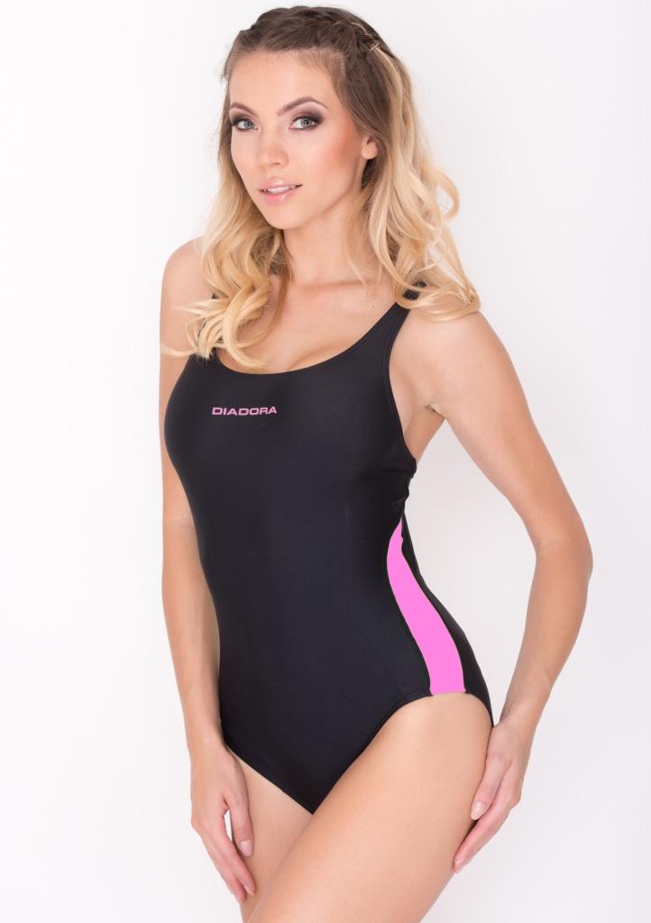 Dámské sportovní plavky Diadora 61002P XS Černá
