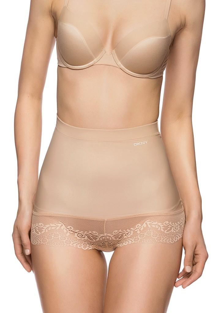 Stahovací kalhotky DKNY 645176 - tělové L Tělová