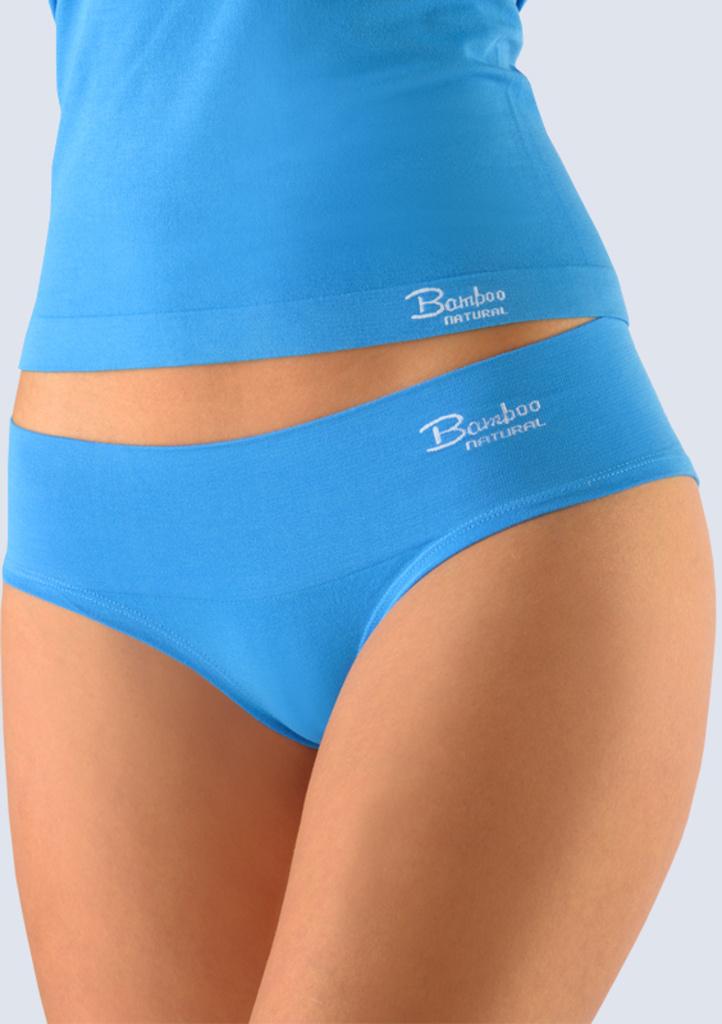 Bambusové kalhotky Gina 04022 L/XL Modrá