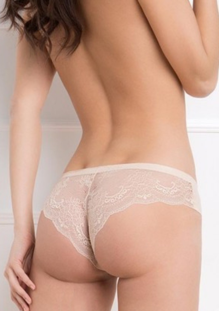 Dámské kalhotky Julimex Tanga L Tělová