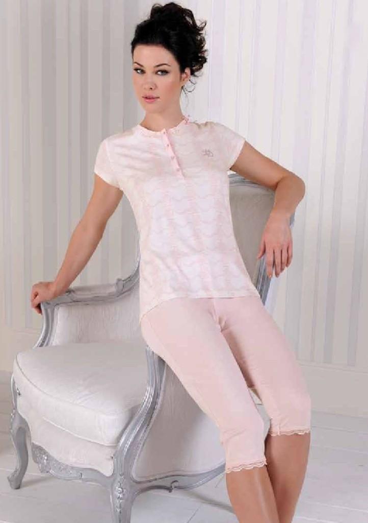 Dámské pyžamo Laura Biagiotti 991356 XXL Cipria
