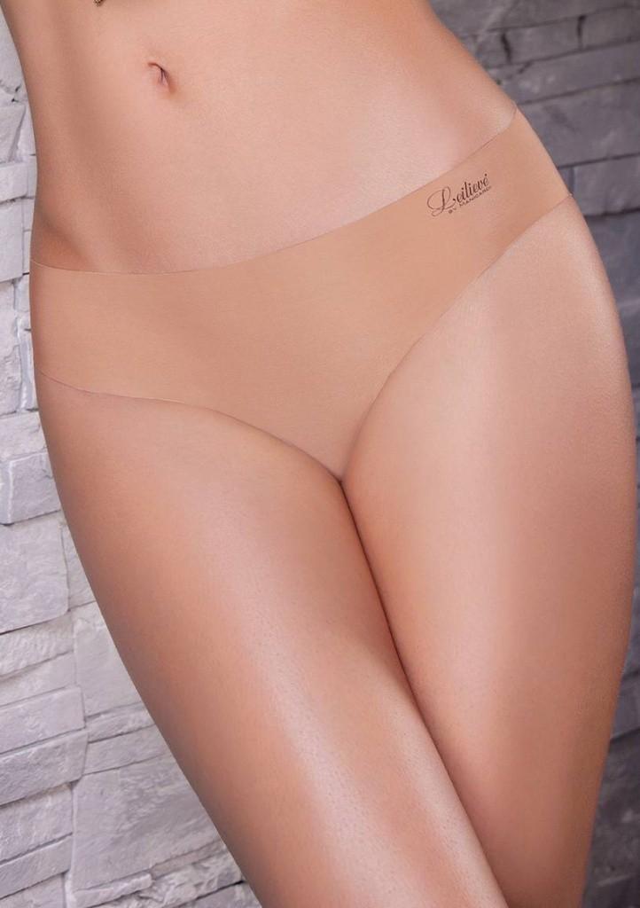 Bezešvé kalhotky Leilieve 3324 více barev XL Bílá