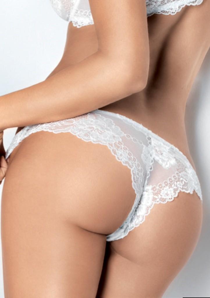 Dámské kalhotky brazilky Lormar Prestige L Myclass-bílá