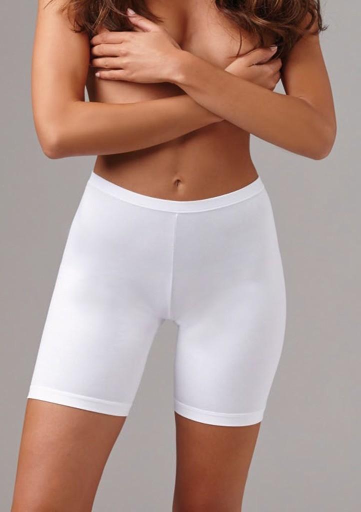 Kalhotky s delší nohavičkou Lovelygirl CINZIA L Bílá