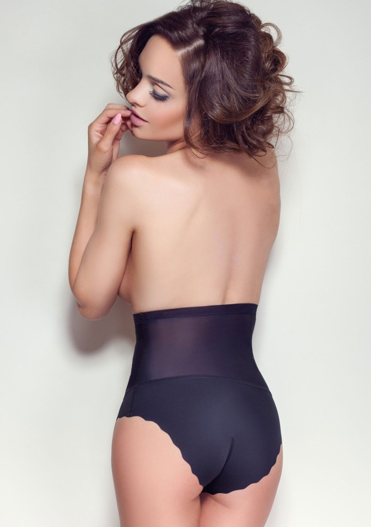 Stahovací kalhotky Mitex Glam černé M Černá