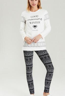 fcf304d94788 Dámske pyžamo Noidinotte FA6329 ...