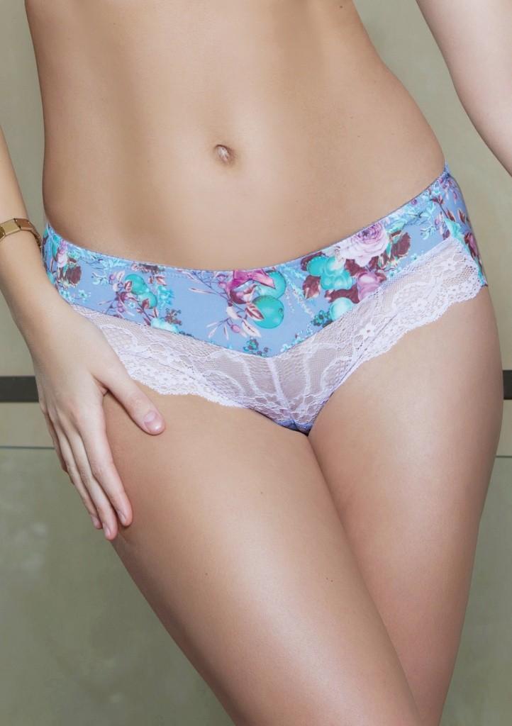 Dámské kalhotky Parfait 4105 Delphine XL Světle modrá