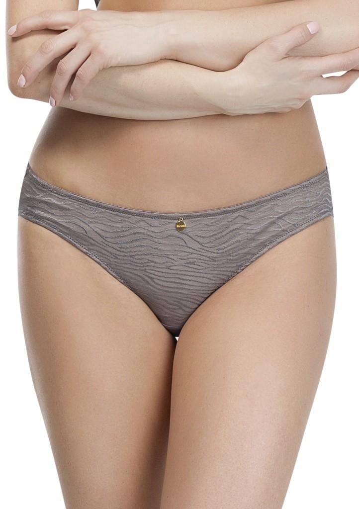 Dámské kalhotky Parfait P5083 Ellie cínová XXL Tm. šedá