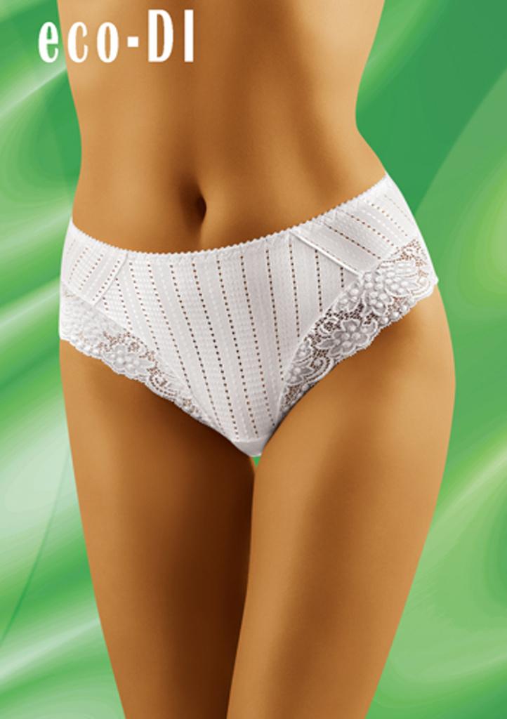 Dámské kalhotky WOLBAR ECO-DI XL Bílá