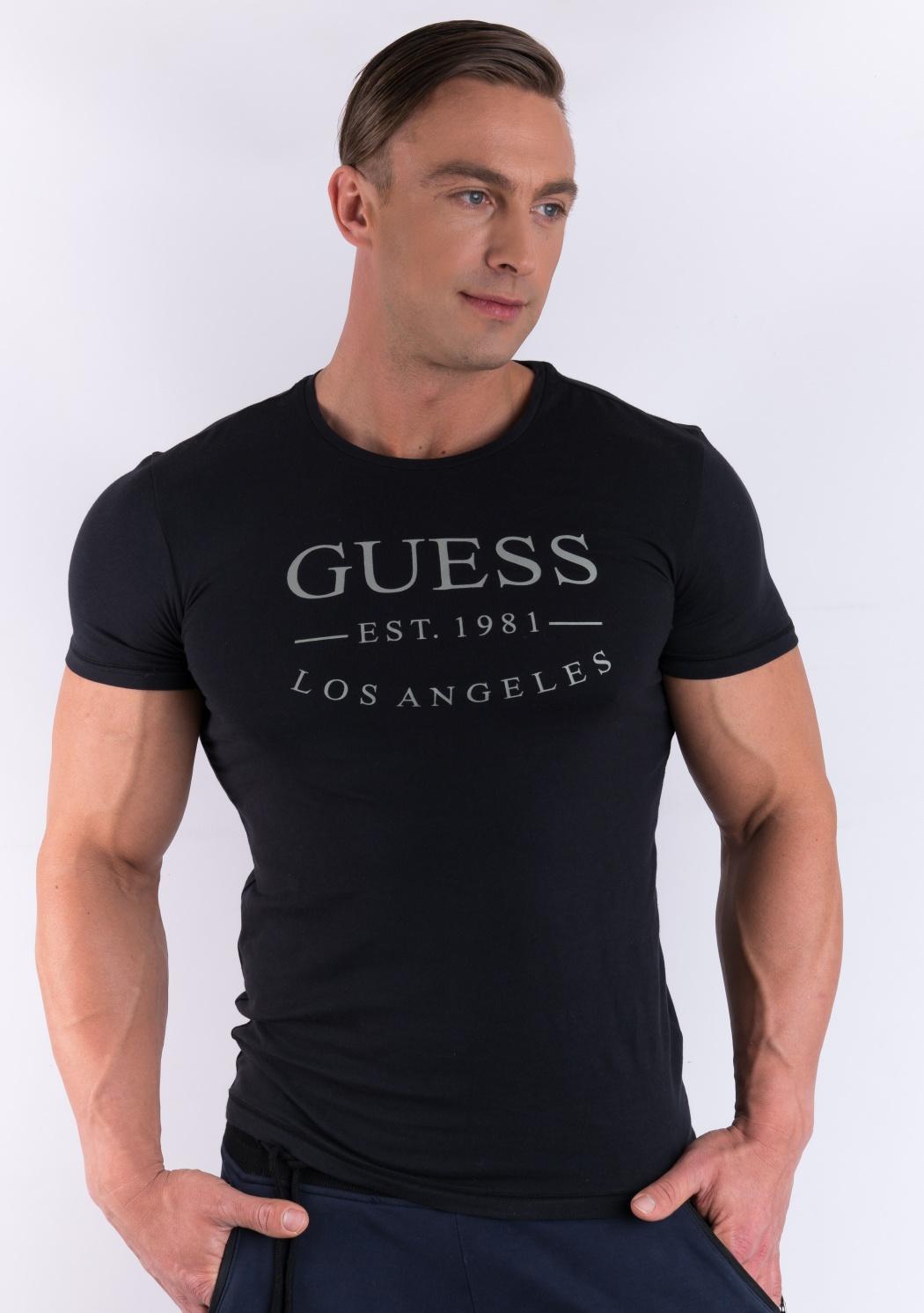 69932f8c9d23 Pánské tričko Guess U77M12