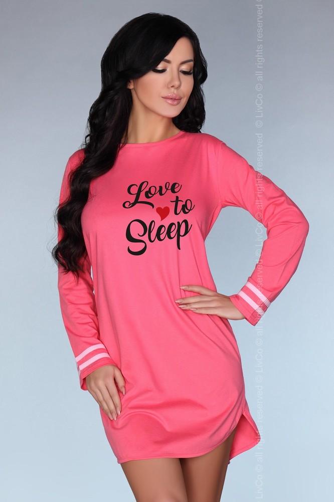 Dámská noční košilka Cayani - LivCo Corsetti L/XL Růžová