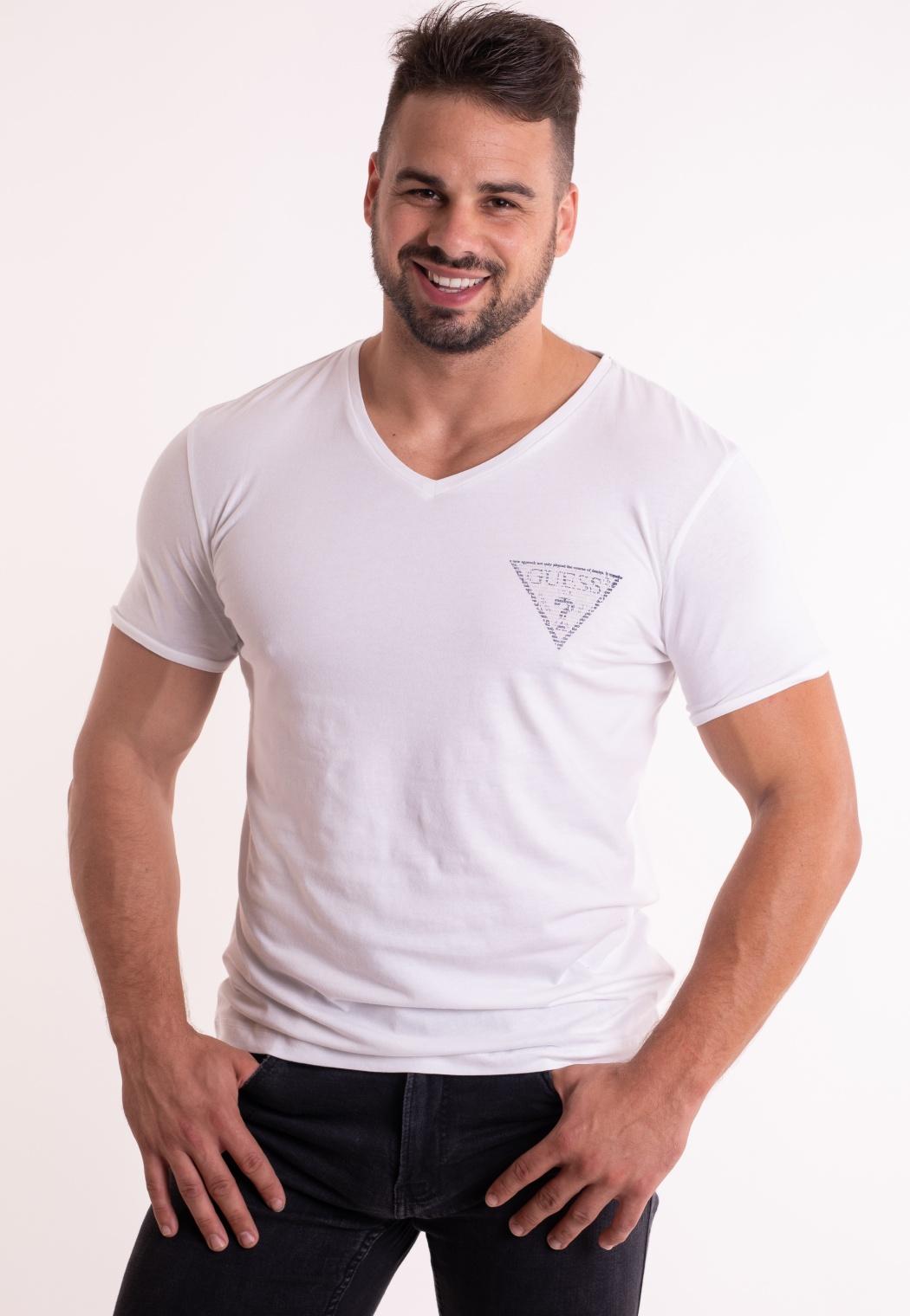 e762cba22a355 Pánske tričko Guess U84M01 | VIP Prádlo