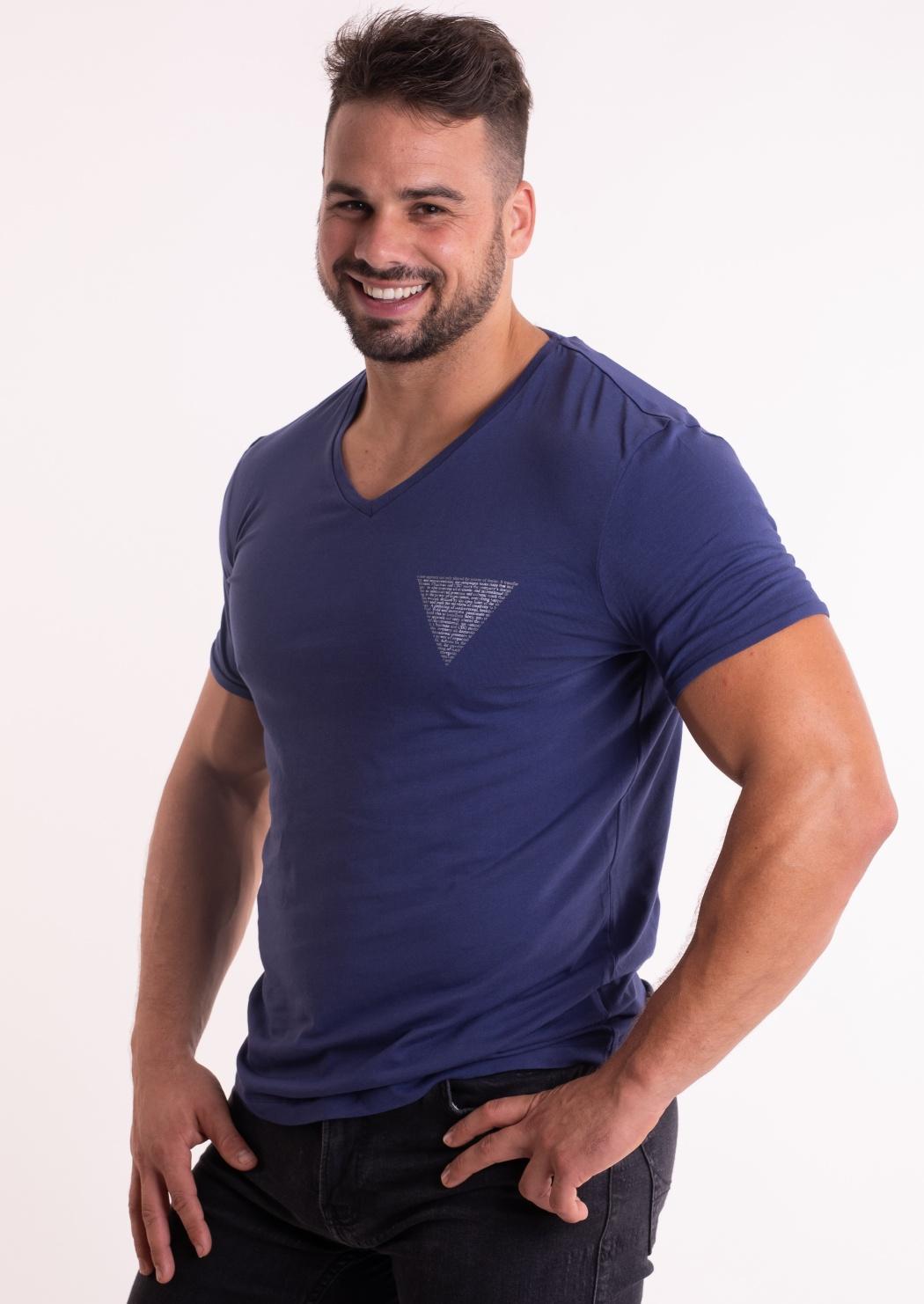 43e5a3046f82 Pánske tričko Guess U84M01