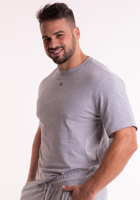 Pánské tričko Tommy Hilfiger UM0UM000952 M Šedá