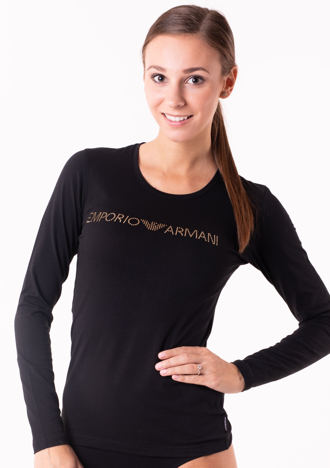 Dámské tričko Emporio Armani 163229 8A263  f9389a7b15c