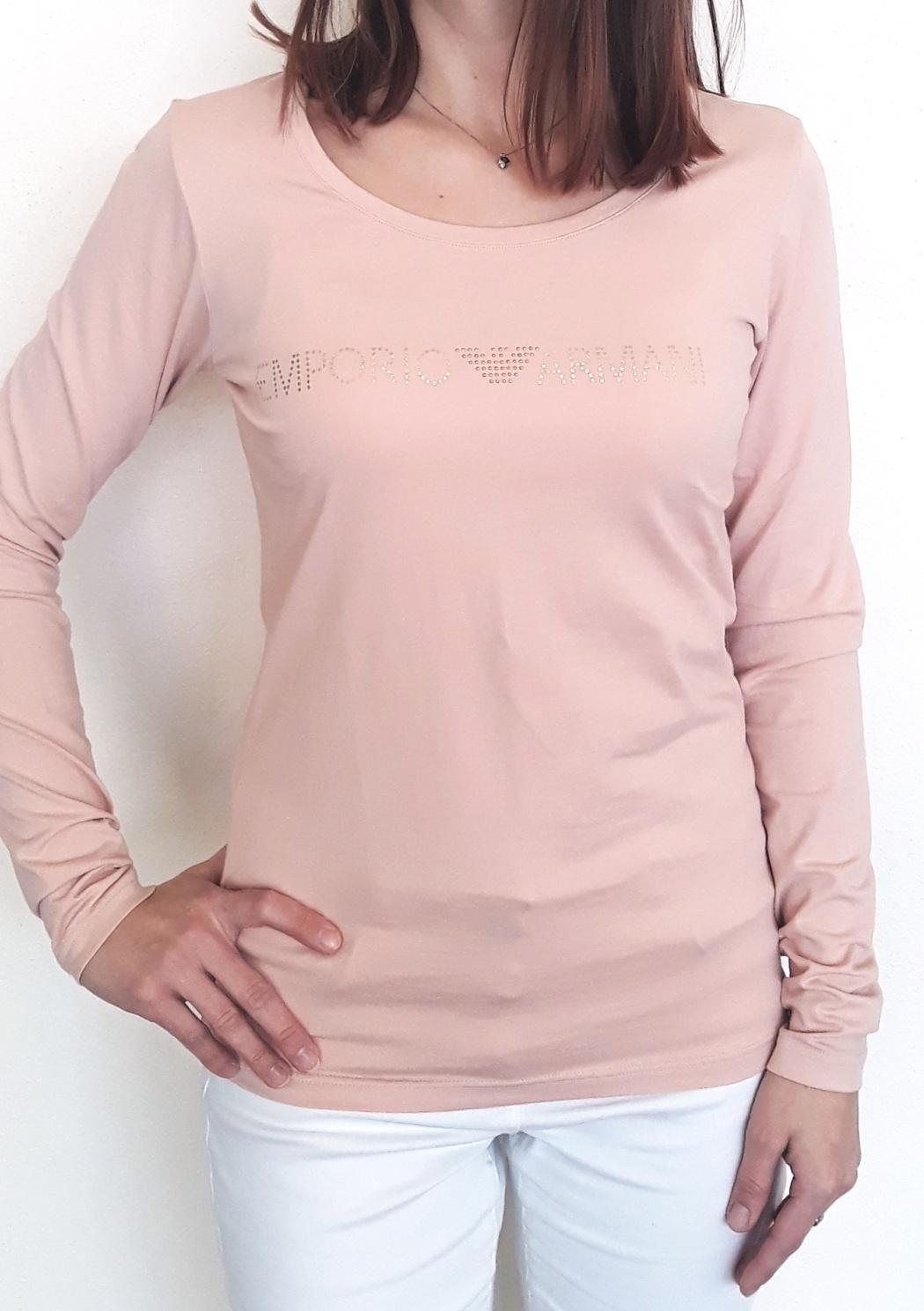 005ef80c23dc Dámské tričko Emporio Armani 163378 8A263 M Starorůžová1