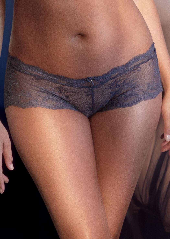 Dámské krajkové kalhotky Parfait Sandrine P5355 XL Modrá
