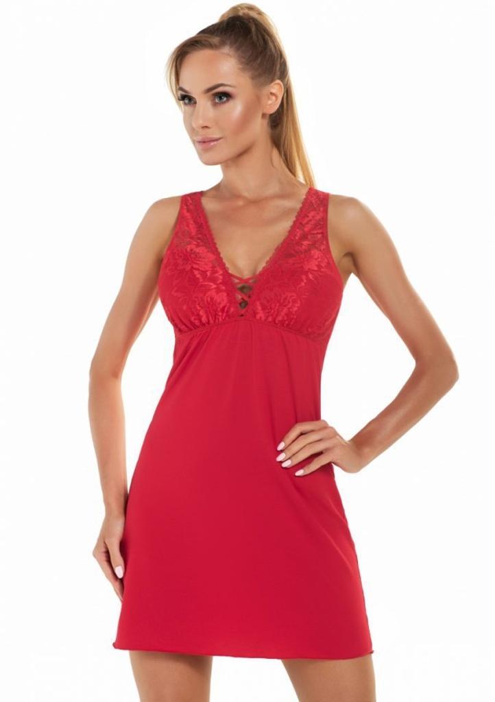 Noční košilka Donna Jenifer M Červená