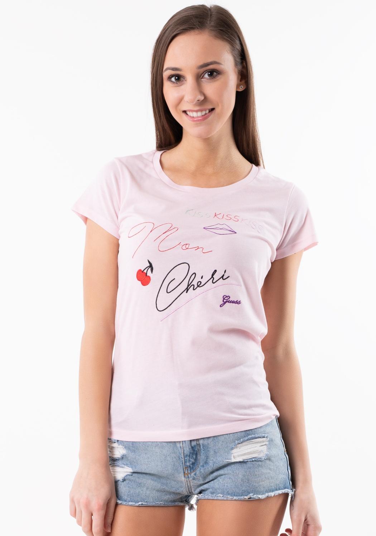 22905ce47547 Dámske tričko Guess O92I00