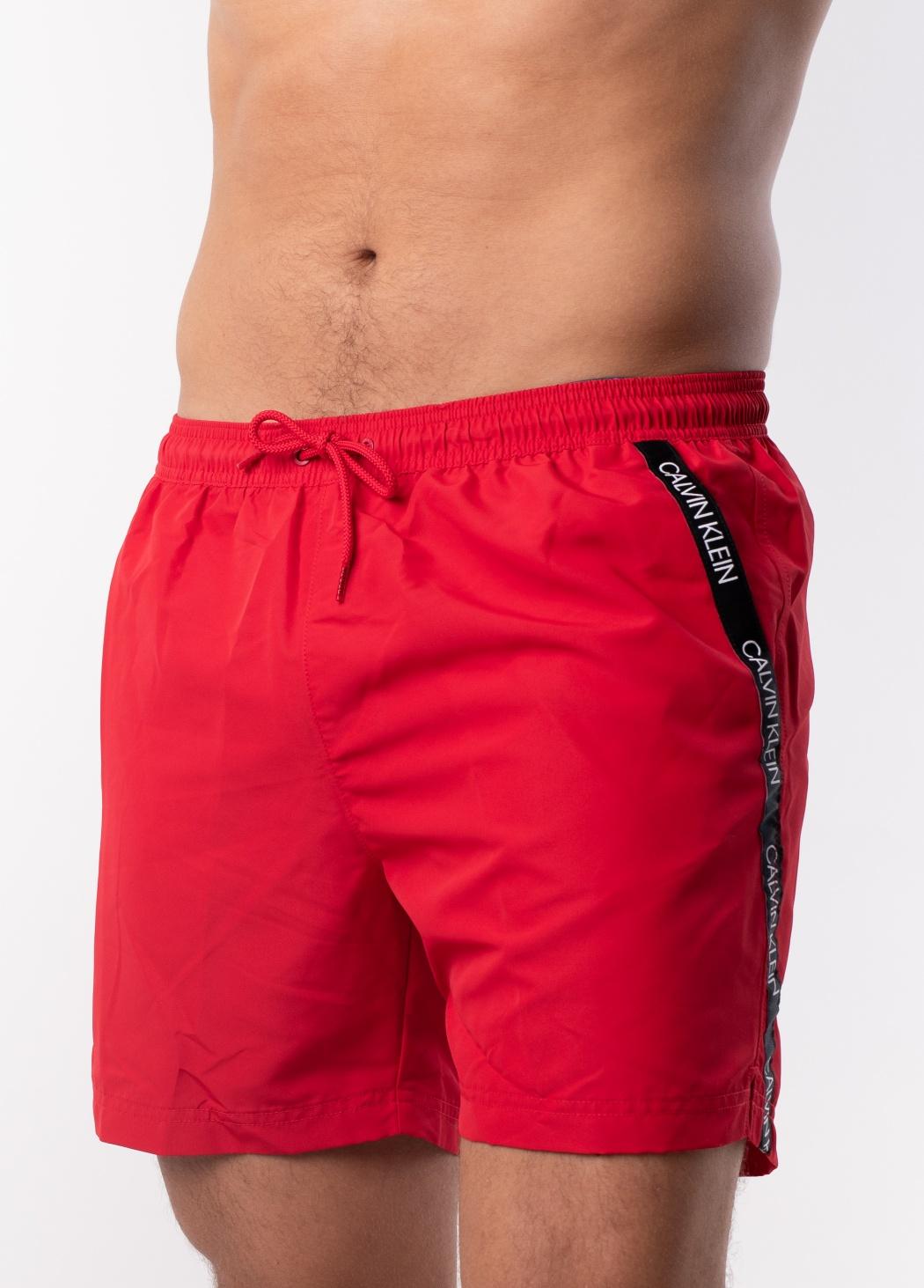 Pánské plavky Calvin Klein KM0KM00285 L Červená