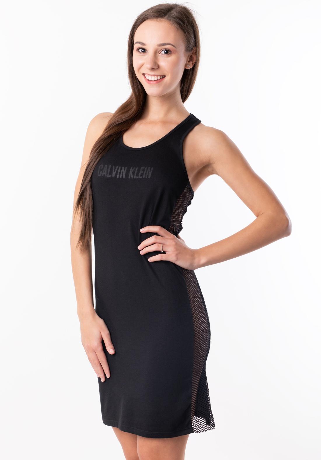 56cd54593c8e Dámské šaty Cavlin Klein KW0KW00711 M Černá