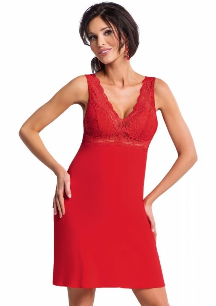 Noční košilka Donna Chantal S Červená