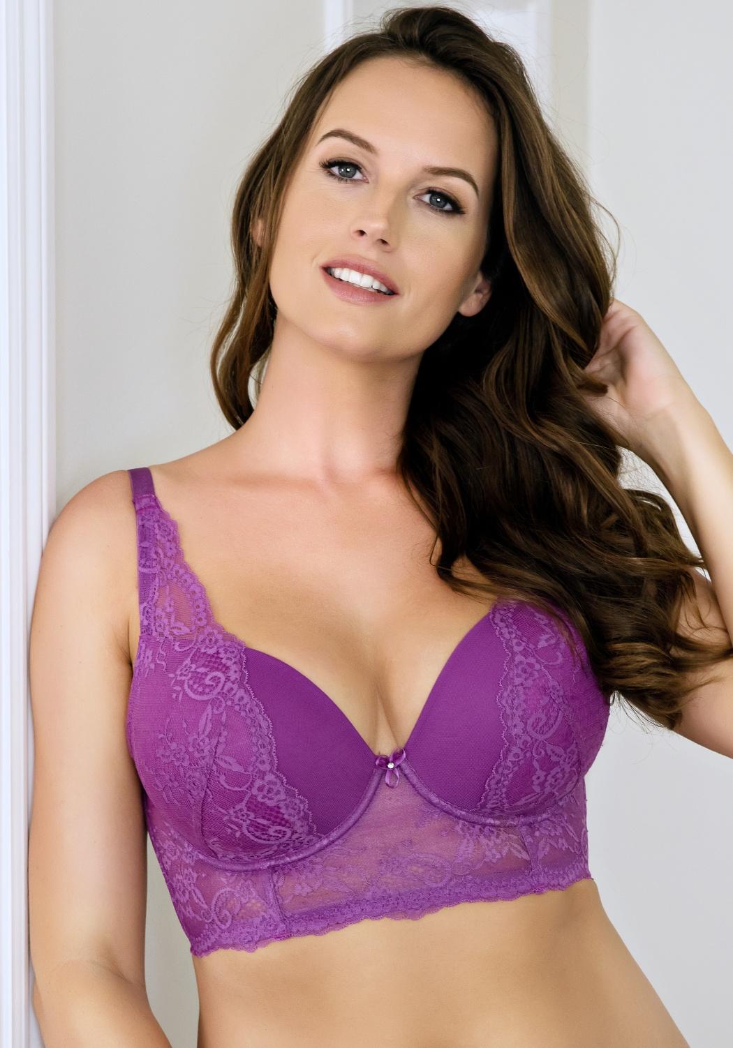 Dámská podprsenka Parfait Sandrine P5351 34 E Purple