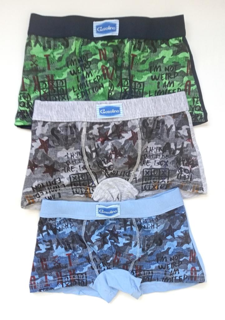 Dětské boxerky EMY U/3102F 5 Mix