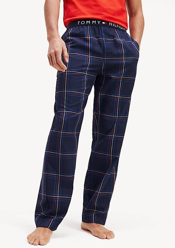 Pánské kalhoty Tommy Hilfiger UM0UM01577 L Tm. modrá