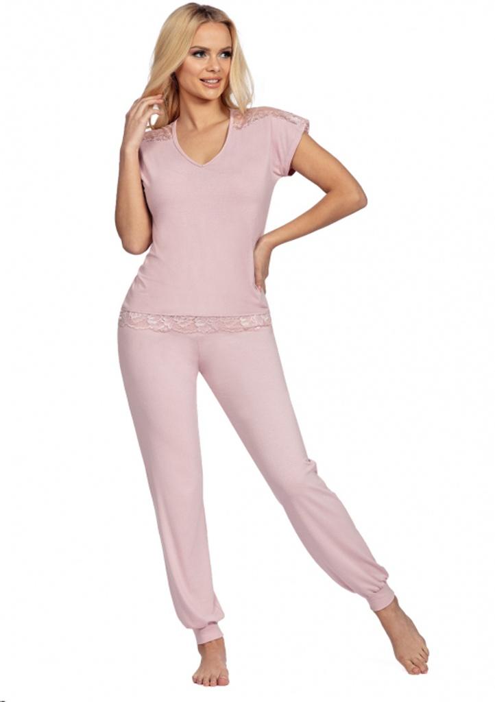 Dámské pyžamo Donna Lena S Starorůžová1