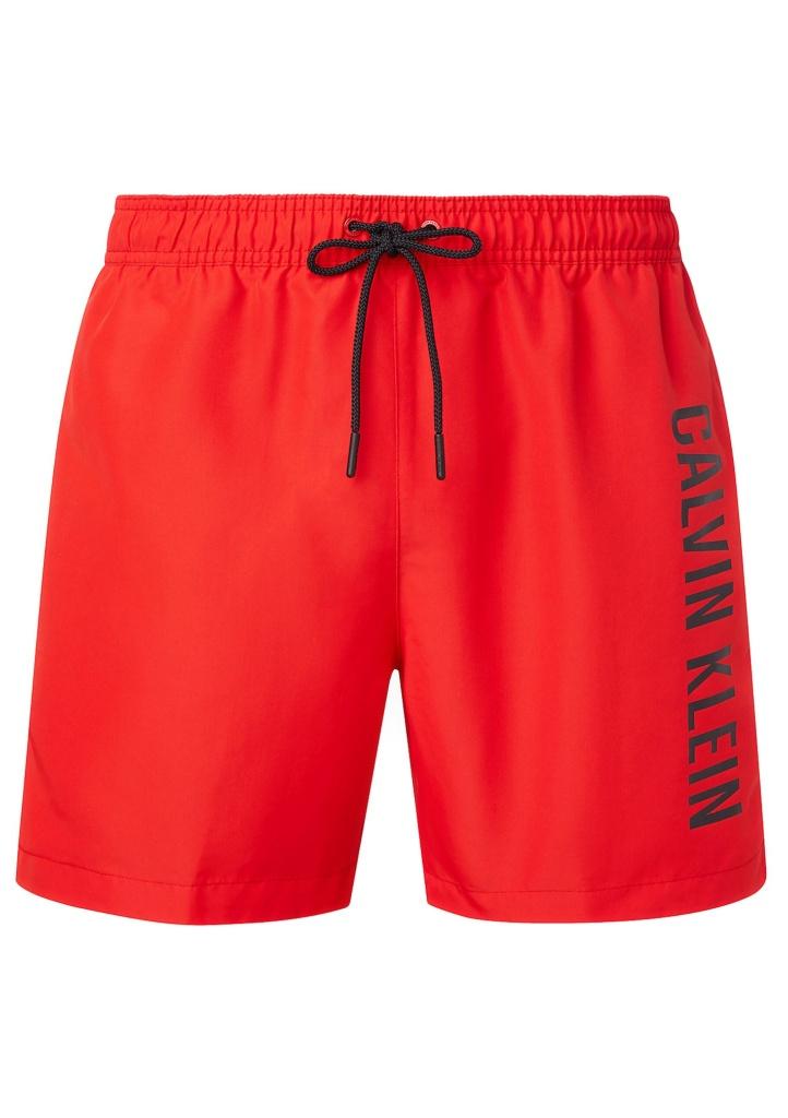Pánské plavky Calvin Klein KM0KM00570 XL Červená