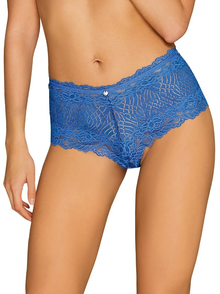 Okouzlující kalhotky Bluellia shorties - Obsessive S/M Modrá