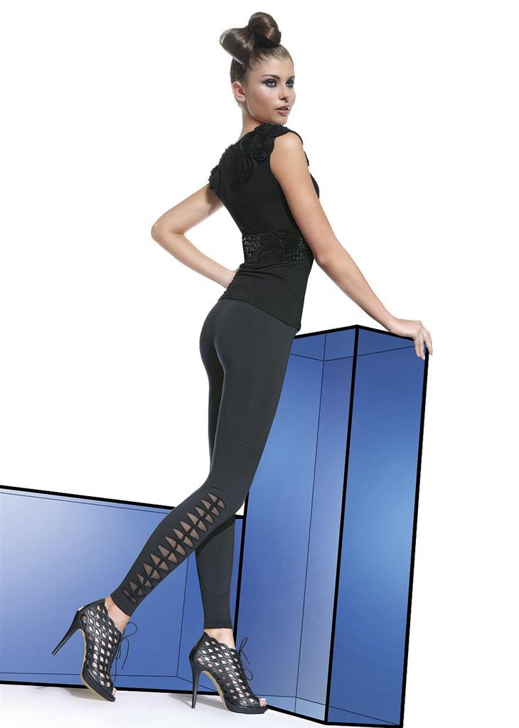 Legíny Stella - Bas Bleu M Čierna